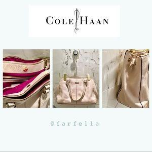 Cole Haan blush beige cross body hand bag